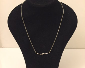 Knot Necklace in 925 sterling silver