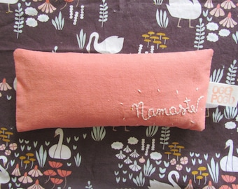Namaste Organic Eye Pillow - with organic rice and organic lavender - Aromatherapy eye pillow - Spa gift - Gift for her - Meditation - Relax