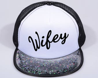 Wifey hats, best wife ever hats, cool ladies hats , gift for her, girlfriend gift, best friend gift, friendship shirt  Ask a question
