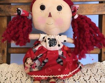 Raggedy Annie- valentine