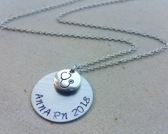 Stethoscope Pinning ceremony Nurse Student RN Nurse Health Care Student Medical Graduation Necklace