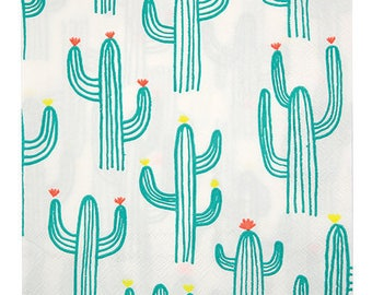 Cactus Party | Cactus Party Napkins | Cactus Napkins | Cactus Party Supplies | Summer Party l Party Napkins | Fiesta Party