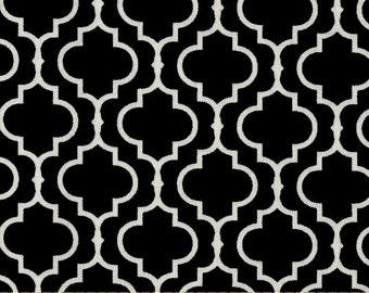 Designer Ironing Board Cover - Metro Living Tiles Black