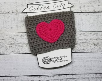 Cozy coffee sleeves