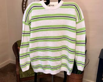 80's/90's One Step Up oversized knit sweater