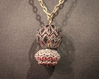 Filigree Vintage Style Necklace