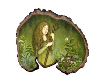 The Herbalist - Mini Print