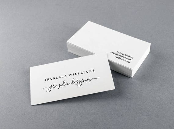 business card template for pdf
