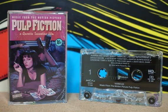 Pulp Fiction: Music From The Motion Picture by Various Artists Vintage Cassette Tape