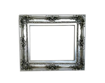 12x16 Shabby Chic Frame, Wall Decorative Mirror, Picture Frame, Ornate Picture Frame, Ornate Frame, Baroque Frame, Wedding Gift