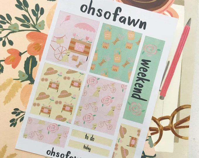 Flower Market Mini Kit