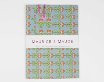 Luxury Gift Wrapping Set | Luxury Gift Wrap | Gift Wrap Set | Wrapping Paper | Gift Wrap & Gift Tags | Wrapping Paper Sheets | Gift Wrap