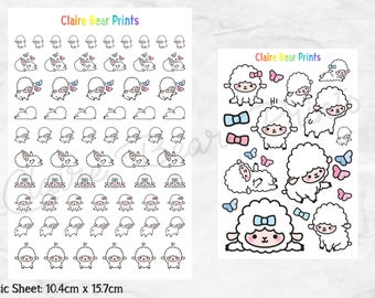 SHEEP Planner Stickers (2 options)
