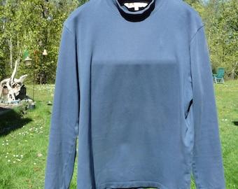 TILLEY ENDURABLES Canadian blue medium longsleeve pullover