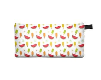 Cold Watermelon Pencil Case - Free shipping USA and Canada