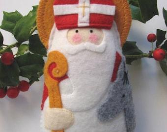 Saint Nicholas... Felt Saint Softie