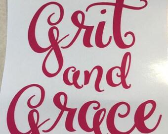 Grit & Grace Decal