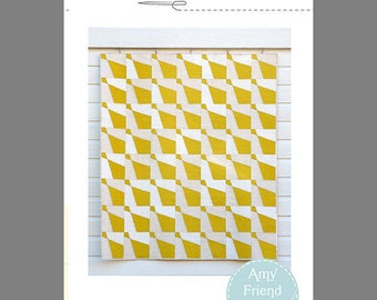 Haberdashery Quilt Pattern by Amy Friend of duringquiettime