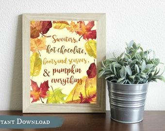 Fall Favorites DIGITAL Print