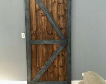 Interior barn door etsy sliding barn door interior door barn door rolling door rolling barn planetlyrics Gallery