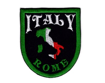Italy rome patch crest for italy Iron/Sew on Patch #008
