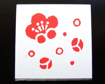 Plum Blossom Stamp Japanese Traditional Flower Ume  FromJapanWithLove
