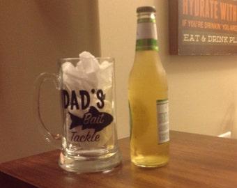 Fishing Beer Mug-Fathers Day-Christmas
