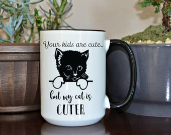 Cat Lover Gift, Home and living, kitchen and dining, drink and barware, drinkware, mugs, funny mugs, gift for her