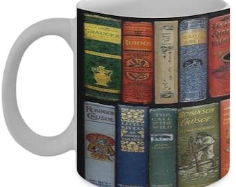 Book Lovers Novelty Coffee Mug