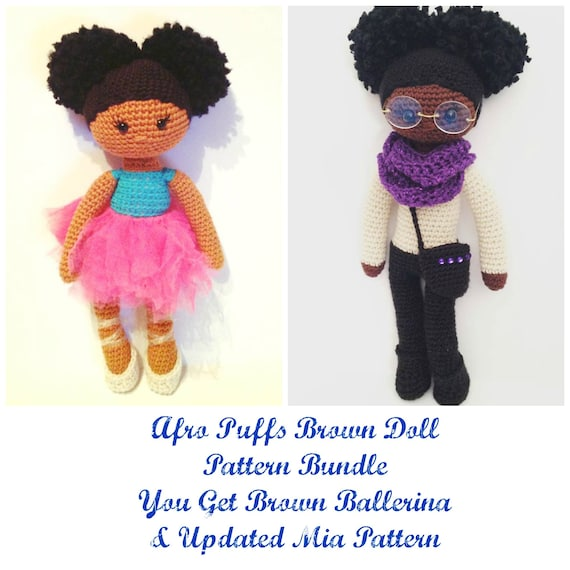 Crochet Doll Pattern Two Doll Patterns Crochet Doll