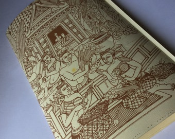 Vintage restaurant menu, vintage, collectible menu Menu menu-collectibles