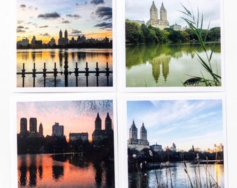 Central Park, New York City, photography, wall art, home decor, housewarming gift, NYC, New York, photos, set of 4