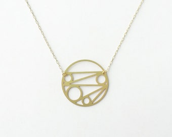 Tangent Circle Necklace | ATL-N-116