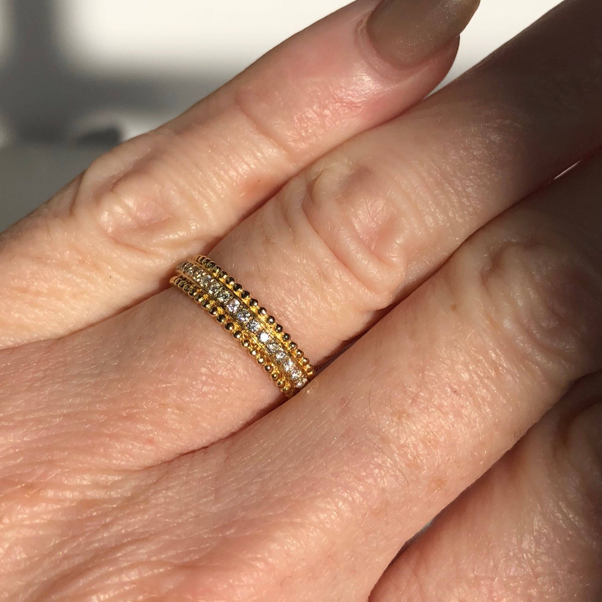 yellow baguette g color in and diamond wedding vs straight clarity full gold bands h premium band ring