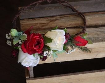 Artificial Ladies Adjustable Side crown/wreath