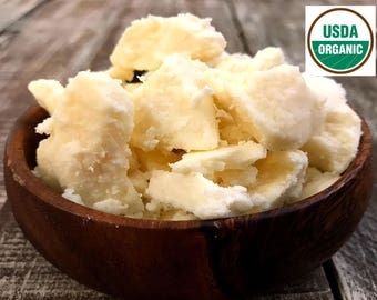 ORGANIC SHEA BUTTER, Unrefined Shea Butter, Fair Trade