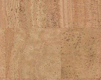 Cork Fabric Natural Pattern - Soft and Impermeable Finish