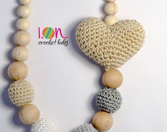 Heart Shaped Nursing Necklace