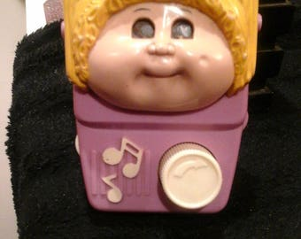 vintage cabbage patch baby toy