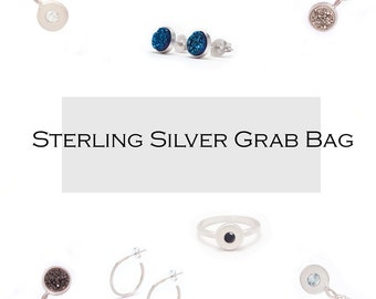 Sterling Silver Jewelry Grab Bag
