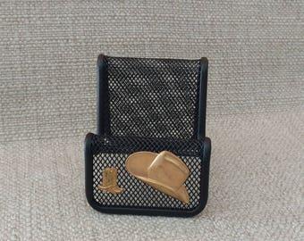 Western card holder etsy western business card holder colourmoves