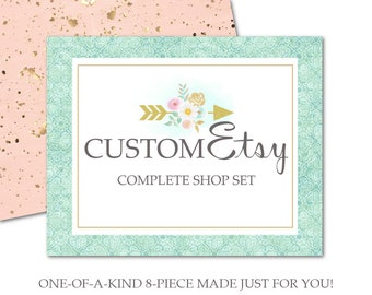Custom Etsy Start Up Set-Etsy Cover Photo,Sale,Vacation Cover Photos,Profile Avatar,Shop Icon,Custom,Reserved,Thank You,Listing Graphics