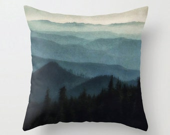 Pillow Cover, Foothills, Nature, Outdoors, Decorative Throw Pillow Cover