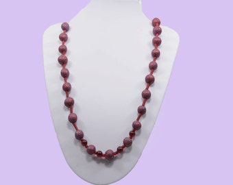 Red-Blue necklace