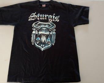 Vintage 1994 Sturgis T-shirt NsOVIYj2HL