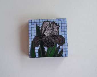 Iris - Indoor Mosaic Wall Hanging