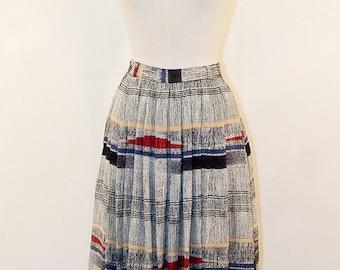 70s Pleated skirt