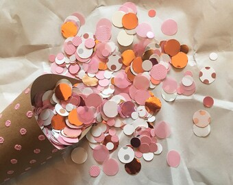 Rose Gold & Blush Confetti - Great for Weddings, Birthdays and Showers!