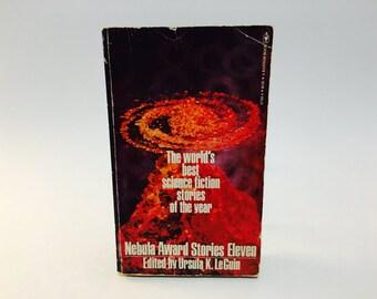 Vintage Sci Fi Book Nebula Award Stories Eleven 1978 Paperback Anthology