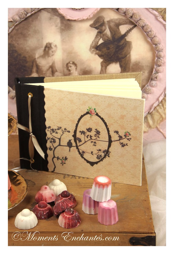 Carnet à poèmes secrets rêves ...